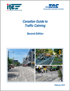 Ptm trafcalm18 e tac atc the canadian guide to traffic calming second edition presents traffic calming as a method to reduce the speed andor volume of non local traffic fandeluxe Choice Image